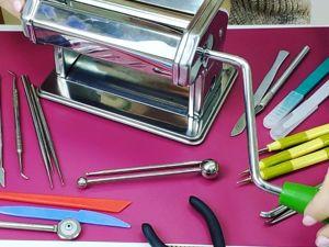 Обзор инструментов для работы с холодным фарфором. Ярмарка Мастеров - ручная работа, handmade.