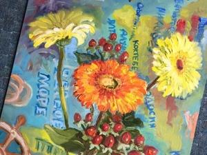 Герберы веселые цветы!. Ярмарка Мастеров - ручная работа, handmade.