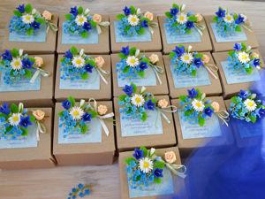 Мы отпраздновали выпускной с колокольчиками и незабудками:). Ярмарка Мастеров - ручная работа, handmade.