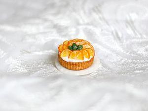 Видео мастер-класс: апельсиновый пирог из полимерной глины. Ярмарка Мастеров - ручная работа, handmade.