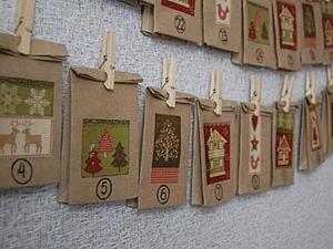В ожидании Нового года: создаем простой, но симпатичный адвент-календарик. Ярмарка Мастеров - ручная работа, handmade.