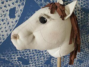 Делаем лошадь на палке для любимого чада. Ярмарка Мастеров - ручная работа, handmade.