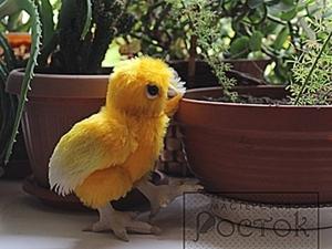 Мастер-класс Пасхальный цыпленок-тедди. Ярмарка Мастеров - ручная работа, handmade.