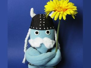 Toy Vikings: Cute but not Scary. Livemaster - hecho a mano - handmade.