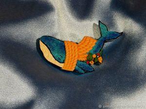 Как создать брошь из полимерной глины .Имитация вышивки. Украшения своими руками. Ярмарка Мастеров - ручная работа, handmade.