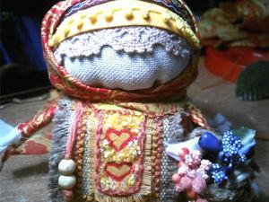 Осенняя кукла «Зерновушка» своими руками. Ярмарка Мастеров - ручная работа, handmade.