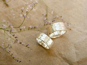 Скидки на парные кольца ко дню влюбленных!. Ярмарка Мастеров - ручная работа, handmade.