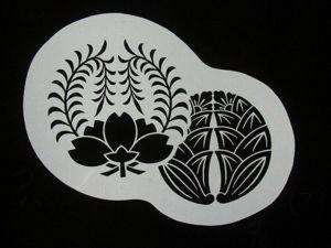 Tsutsugaki, katagami и katazome. Бумажное кружево. Ярмарка Мастеров - ручная работа, handmade.