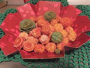 Бусины и цветочки (утилизация войлока). Ярмарка Мастеров - ручная работа, handmade.