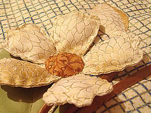 Объемная аппликация на примере цветка.. Ярмарка Мастеров - ручная работа, handmade.