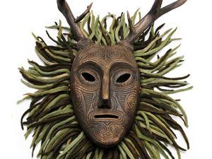 Дух Леса, маска. Ярмарка Мастеров - ручная работа, handmade.