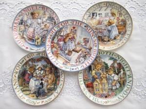 Декоративные тарелки от Franklin Mint Royal Doulton. Teddy Bear Мишки Часть 2. Ярмарка Мастеров - ручная работа, handmade.