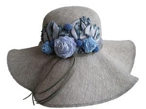 Шляпа  «Парфе цвета неба». Ярмарка Мастеров - ручная работа, handmade.