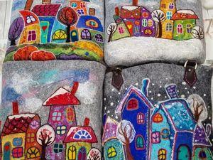Фото-отчёт МК в Риге по сказочным сумкам. Ноябрь 2018. Ярмарка Мастеров - ручная работа, handmade.