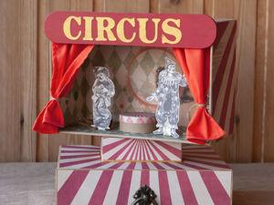Обзор интерактивного альбома  «Старый цирк». Ярмарка Мастеров - ручная работа, handmade.