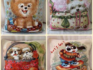 Серия веселых чехлов с Собачками. Ярмарка Мастеров - ручная работа, handmade.