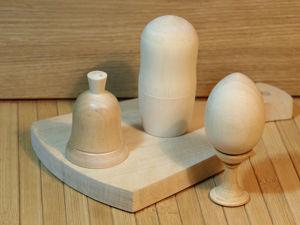 Подготавливаем деревянную заготовку под роспись. Ярмарка Мастеров - ручная работа, handmade.