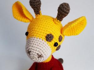 Мастер-класс по вязанию жирафа Жени в стиле амигуруми. Ярмарка Мастеров - ручная работа, handmade.