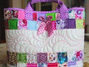 Шьем сумку-корзинку для девочки «Розовый сон». Ярмарка Мастеров - ручная работа, handmade.