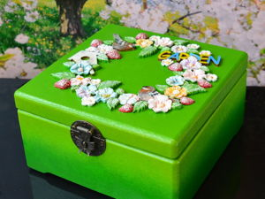 Шкатулка для хранения семян. Подарок Садоводу. Ярмарка Мастеров - ручная работа, handmade.
