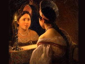 Свет мой, зеркальце. Ярмарка Мастеров - ручная работа, handmade.