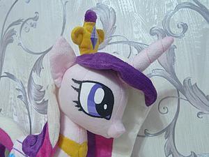 Как сделать глаза плюшевой пони, если нет вышивальной машинки. Ярмарка Мастеров - ручная работа, handmade.
