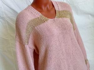 Появился в наличии свитер с вырезом. Ярмарка Мастеров - ручная работа, handmade.