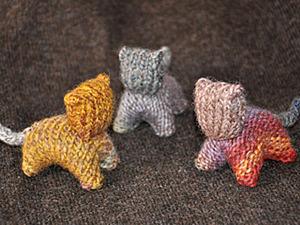 Вязанный кот - вальдорфская игрушка.. Ярмарка Мастеров - ручная работа, handmade.