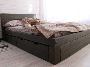 Кровать для юноши. Ярмарка Мастеров - ручная работа, handmade.