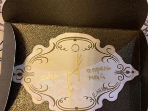 Пример хранения формул в конверте, который помещается в ежедневнике на странице. Ярмарка Мастеров - ручная работа, handmade.