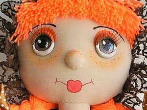 Объемные глазки для кукол. Ярмарка Мастеров - ручная работа, handmade.
