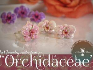 Видеообзор комплекта украшения «Орхидея», S925. Ярмарка Мастеров - ручная работа, handmade.