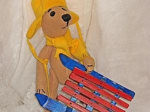 Делаем санки для Боника. Ярмарка Мастеров - ручная работа, handmade.