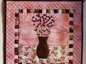 Creating a Patchwork Panel ''Quiet Morning''. Livemaster - handmade