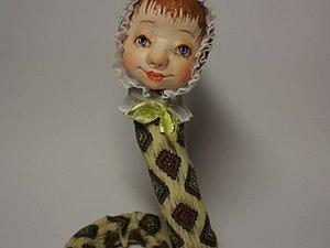 "Мастер-класс: создаем куклу ""Змейку"". Ярмарка Мастеров - ручная работа, handmade."