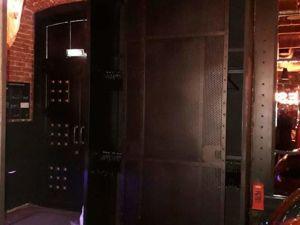 Шкаф из металла с амбарными механизмами. Индустриальный лофт. Ярмарка Мастеров - ручная работа, handmade.
