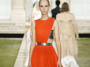 Новый дизайнер Givenchy эффектно представила коллекцию на Неделе высокой моды в Париже. Ярмарка Мастеров - ручная работа, handmade.