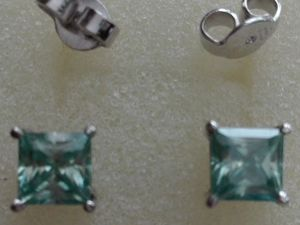 Скидка 10% на Серьги серебро муассаниты 3,5 карата. Ярмарка Мастеров - ручная работа, handmade.