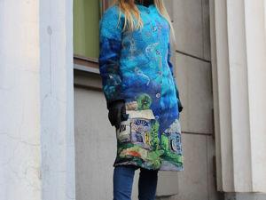 О том как  «Ведет»  себя валяное пальто!!! АКЦИЯ!!!!. Ярмарка Мастеров - ручная работа, handmade.
