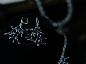 Создаем серьги «Коралл» в технике бисероплетение. Ярмарка Мастеров - ручная работа, handmade.