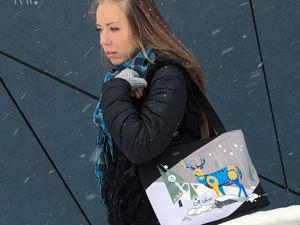 Зимний олень: идеальное попадание в образ. Ярмарка Мастеров - ручная работа, handmade.