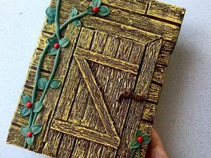 DIY. Декорируем блокнот. Простая идея из картона и бумаги. Ярмарка Мастеров - ручная работа, handmade.