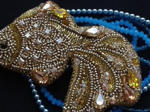"""Создаем брошь """"Золотая рыбка"""". Ярмарка Мастеров - ручная работа, handmade."""