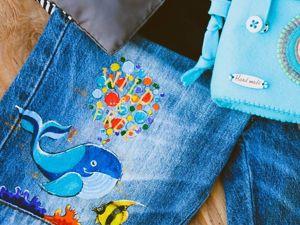 Роспись одежды. Ярмарка Мастеров - ручная работа, handmade.