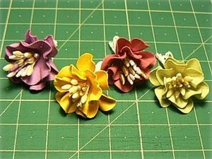 Мастер-класс: бумажные цветы своими руками. Ярмарка Мастеров - ручная работа, handmade.
