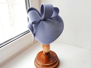 Новая шляпка в стиле Kate Middlton. Ярмарка Мастеров - ручная работа, handmade.