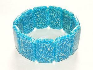Создаем браслет из полупрозрачной пластики (имитация агата). Ярмарка Мастеров - ручная работа, handmade.