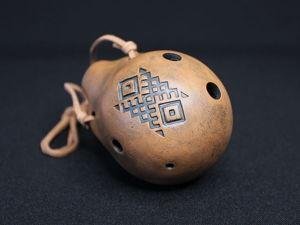Образец звучания окарины  «Дух Земли». Ярмарка Мастеров - ручная работа, handmade.