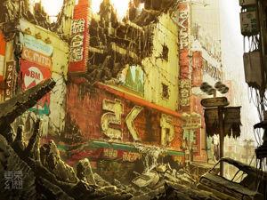 Апокалиптическое искусство Tokyo Genso. Ярмарка Мастеров - ручная работа, handmade.