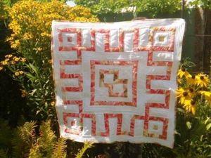 Собираем блоки для одеяла «Репейник счастья». Ярмарка Мастеров - ручная работа, handmade.